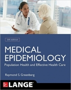 Medical Epidemiology 5TH ED.